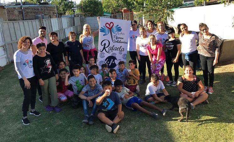 """""""Tijeras Solidarias"""", una iniciativa que crece día a día"""