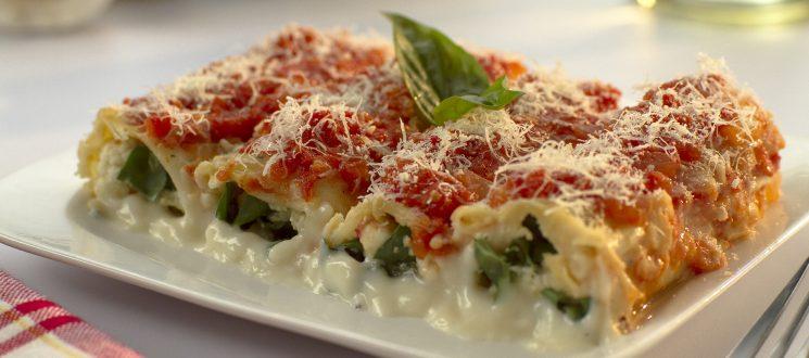 Receta Milénica: canelones de espinaca y queso