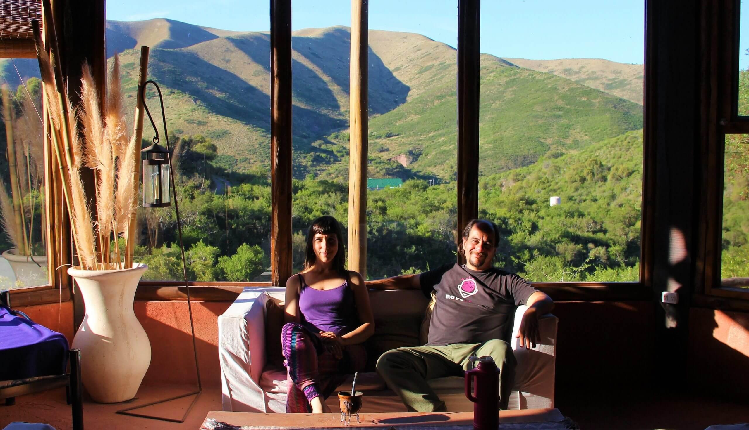 Sofía y Pablo, creadores de Tanta Luz