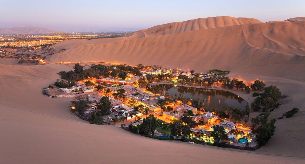 Huacachina: un paraíso en medio del desierto
