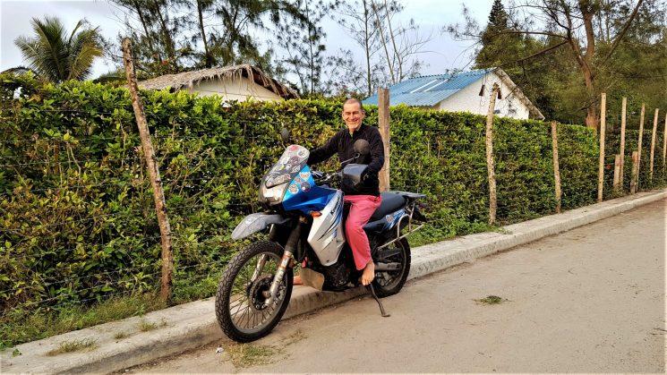 """""""Viajar en moto es como estar viendo una película todo el tiempo"""""""